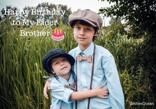 Funny Birthday Wishes for Elder Brother