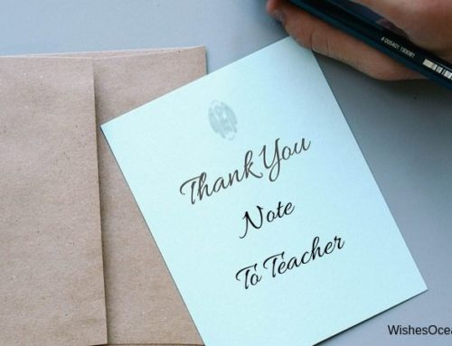 25 Best Examples of Thank You Note to Teacher [2019]