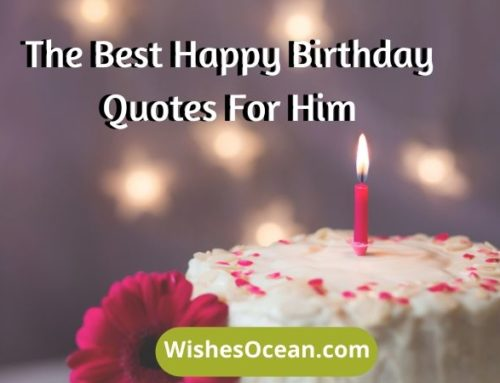 31+ Best Happy Birthday Quotes for Him (Cute and Funny)