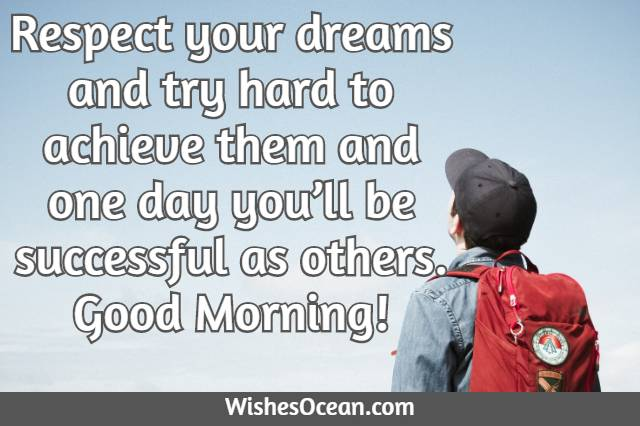Morning Wishes for Students
