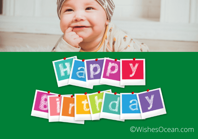 Birthday Wishes for 1 Year Old Boy
