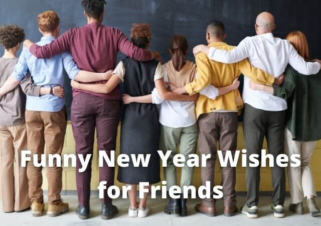 funny new year wishes for friends