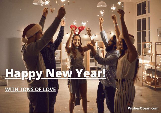 Romantic New Year Wishes for Fiance