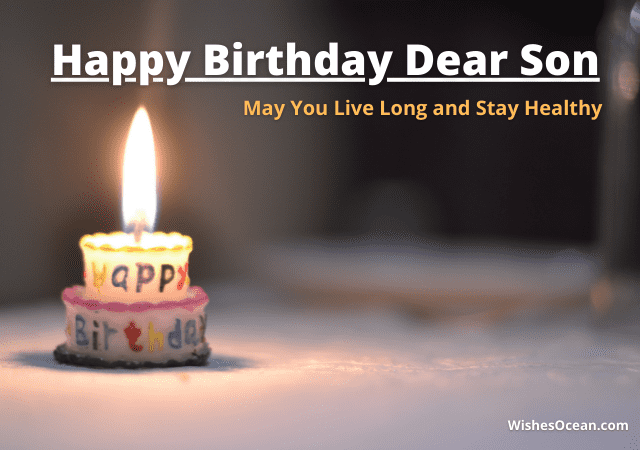 Happy Birthday Wishes for Teenage Son