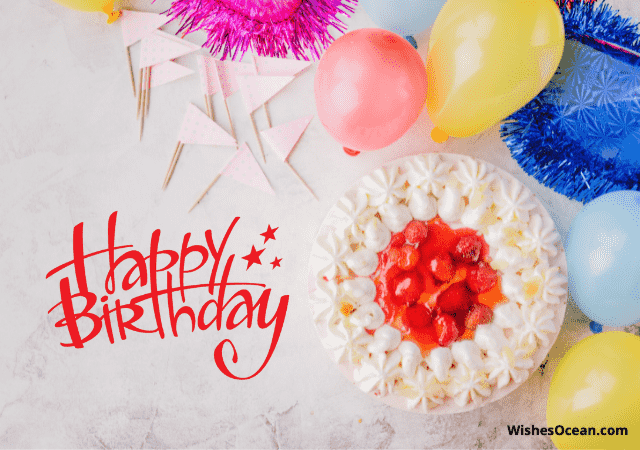 Two Line Happy Birthday Wishes for Love