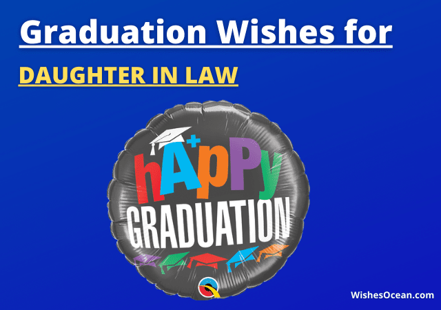 Graduation Wishes for Daughter in Law